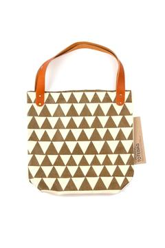 Shoptiques Product: Gold Triangles Tote