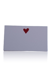 DAVINCI Letterpress Place Cards - Front cropped
