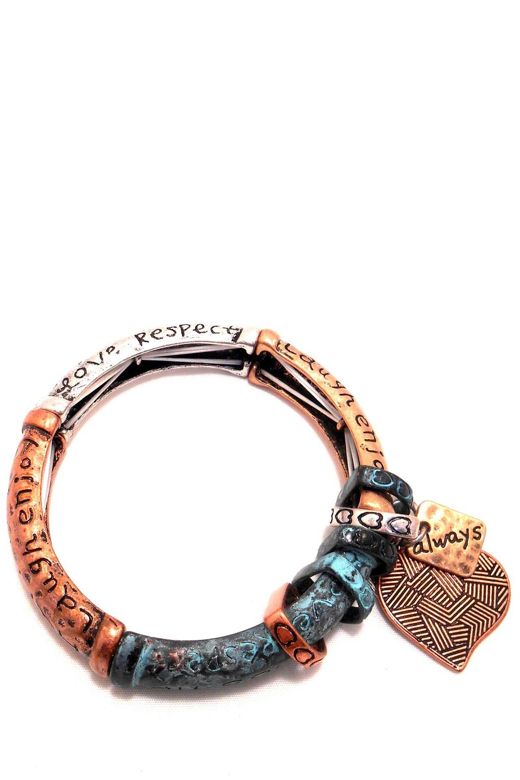 davinci themed bracelet from wisconsin by the chic