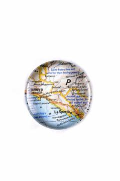 Shoptiques Product: Riomaggiore Map Paperweight