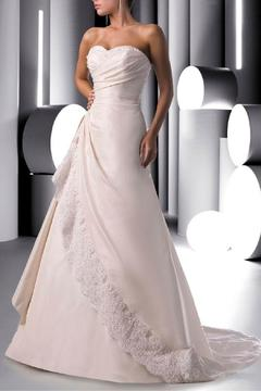 Shoptiques Product: Strapless Taffeta Bridal