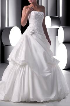 Shoptiques Product: Strapless Taffeta Gown