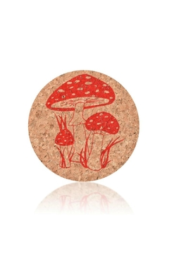 Shoptiques Product: Toadstool Cork Coasters