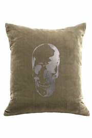 DAVINCI Velvet Skull Pillow - Product Mini Image