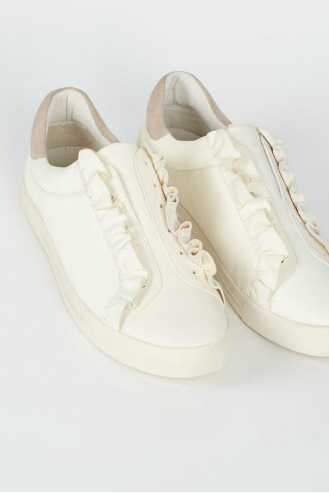 Joie Daw Sneaker Ruffle - Front Cropped Image
