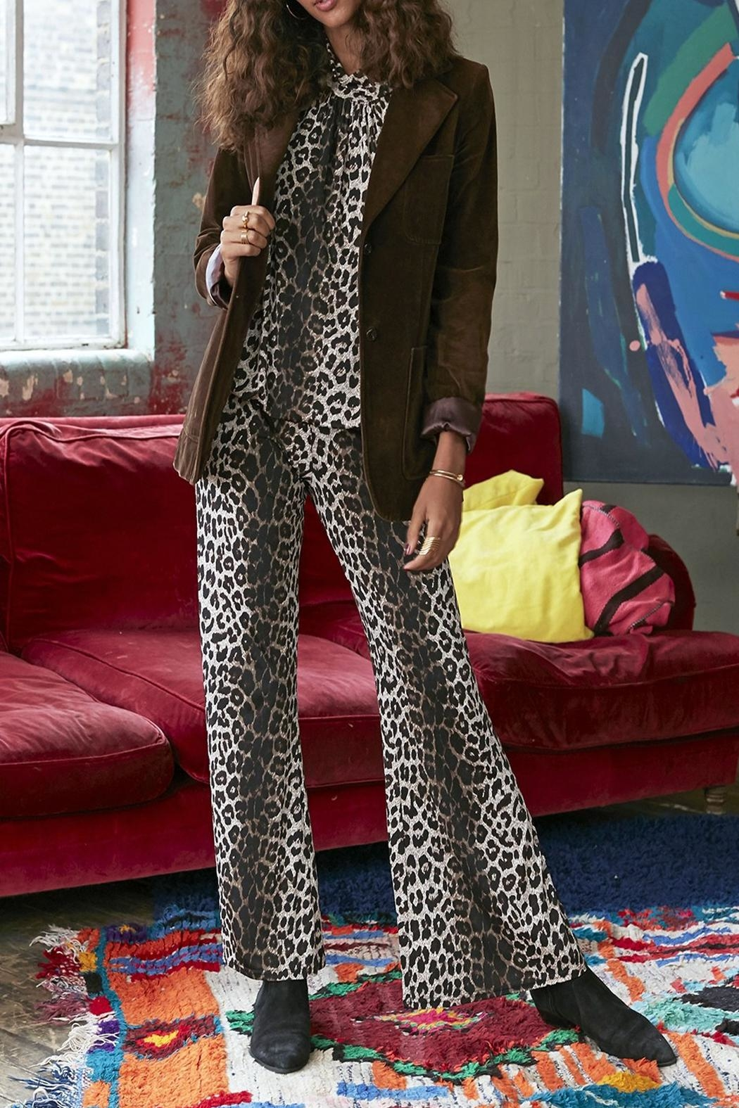 Onjenu Dawn Animal Trousers - Front Full Image