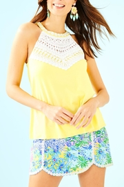Lilly Pulitzer Dawn Halter Top - Product Mini Image