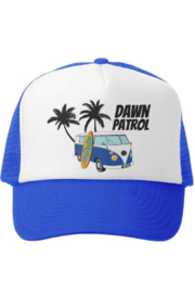 Grom Squad Dawn patrol trucker hat - Front cropped