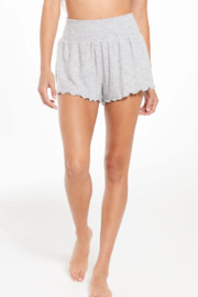 z supply Dawn Smocked Short - Front cropped