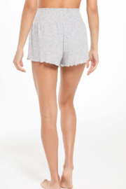 z supply Dawn Smocked Short - Front full body