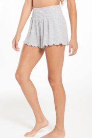 z supply Dawn Smocked Short - Side cropped