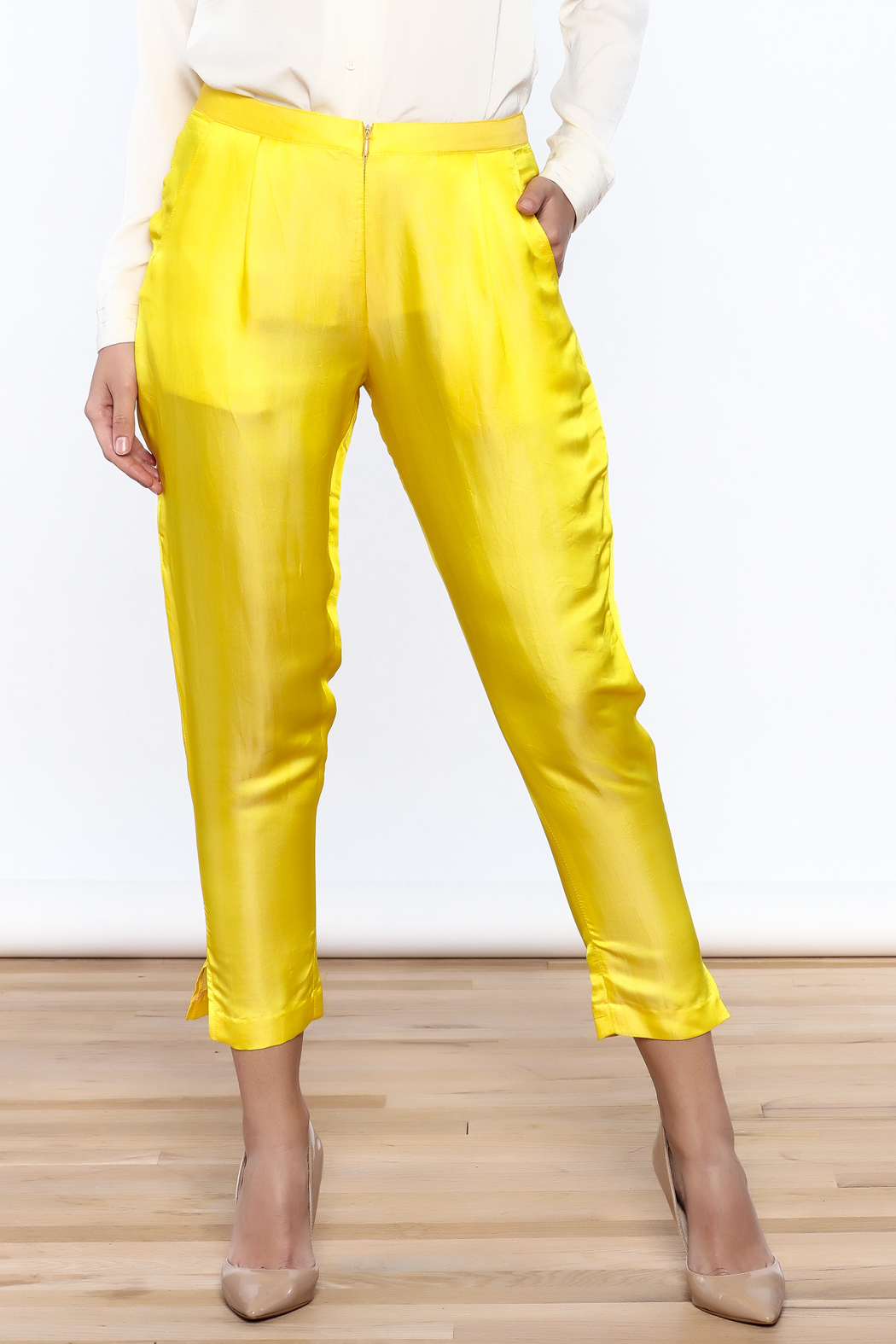Dawn Sunflower Basic straigth Pant - Main Image