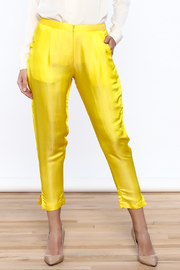 Dawn Sunflower Basic straigth Pant - Product Mini Image