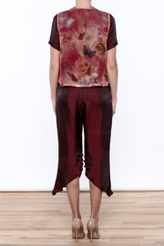 Dawn Sunflower Pant Set - Back cropped
