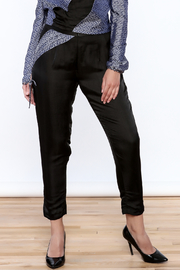 Dawn Sunflower Color Block Basic Pant - Front cropped