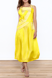 Dawn Sunflower Bright Yellow Dress - Product Mini Image