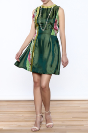 Dawn Sunflower Floral Dress - Front full body