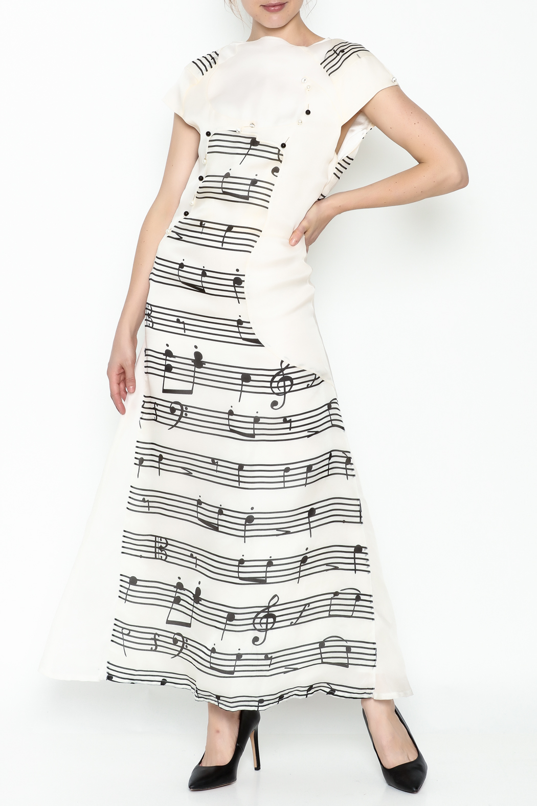 Dawn Sunflower Long Melody Dress - Main Image