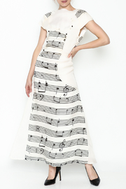 Dawn Sunflower Long Melody Dress - Front full body