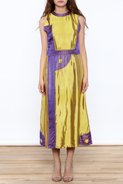 Dawn Sunflower Long Yin Yang Dress - Front full body
