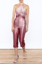 Dawn Sunflower Ombre Pink Jumpsuit - Product Mini Image