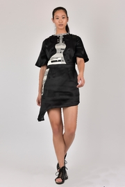 Dawn Sunflower Guitar Assymmetrical Dress - Front cropped