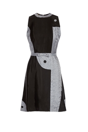 Dawn Sunflower Yin Yang Dress - Front cropped