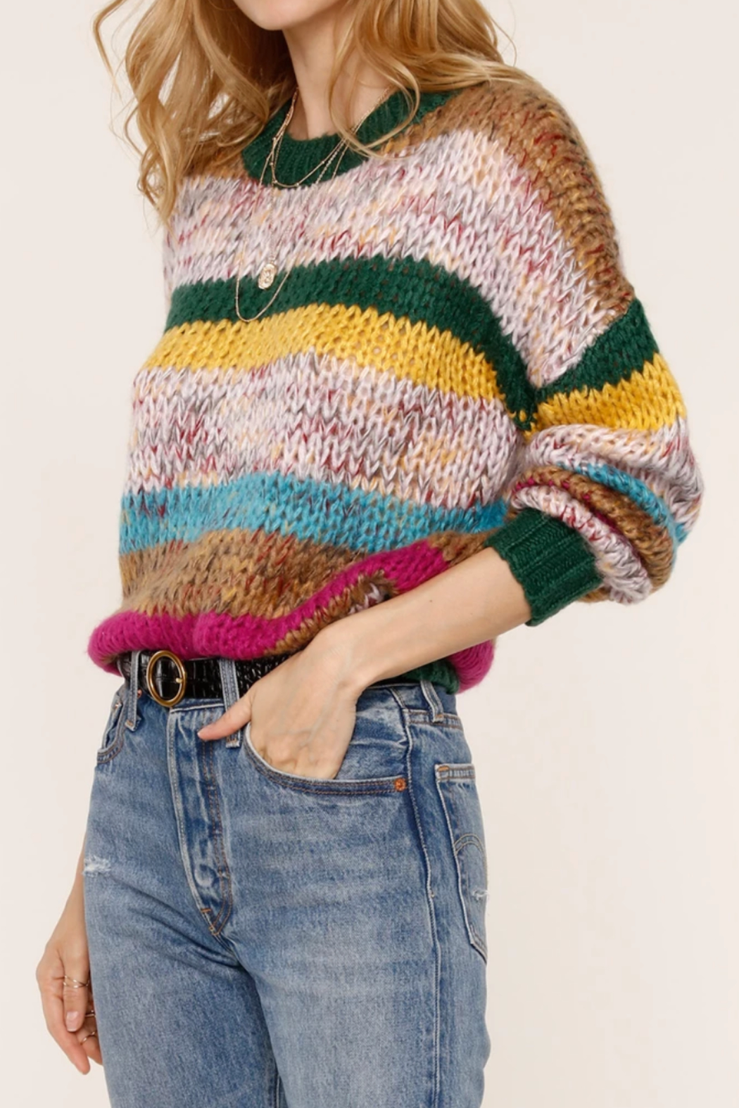 Heartloom Dawson Sweater - Front Full Image