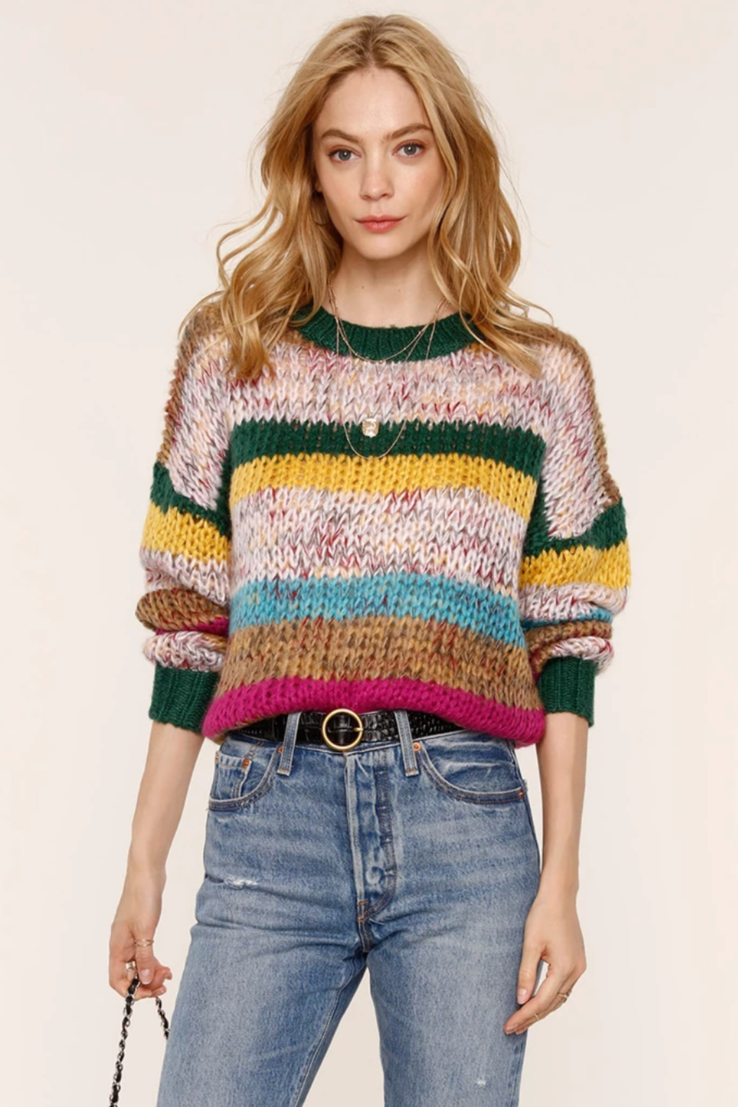 Heartloom Dawson Sweater - Front Cropped Image