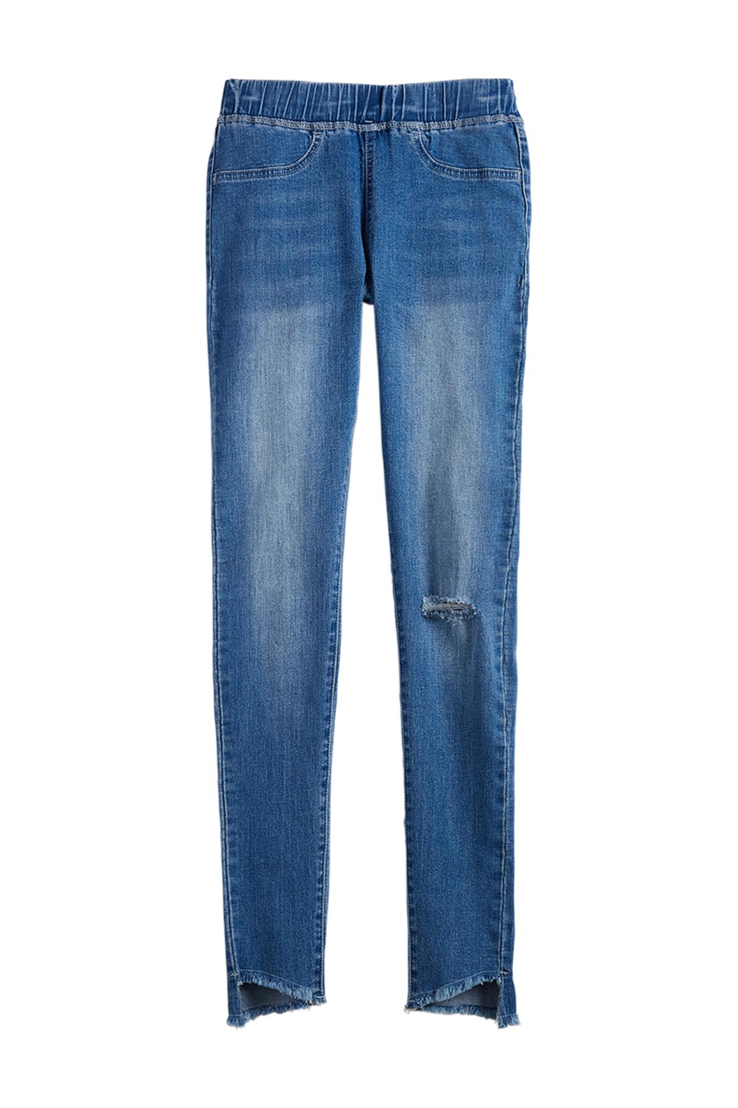 Mud Pie  Dax Distressed Jean - Front Full Image