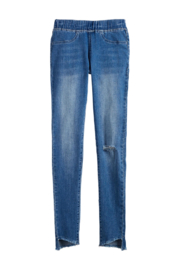 Mud Pie  Dax Distressed Jean - Front full body