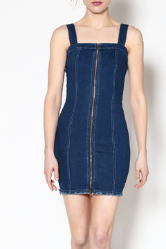 Shoptiques Product: Fitted Denim Dress