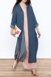 day and night Casual Denim Duster - Product Mini Image
