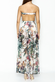day and night Floral Dress Romper - Back cropped
