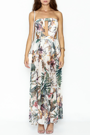 day and night Floral Dress Romper - Front full body
