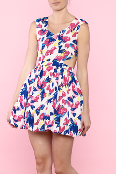 day and night Floral Party Dress - Product List Image