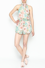 day and night Floral Print Romper - Side cropped