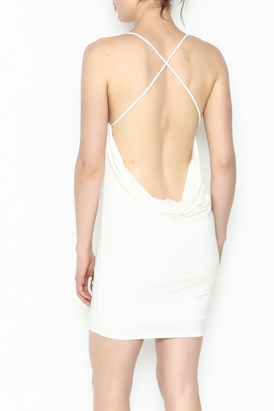 day and night Strappy Back Dress - Back Cropped Image