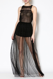 day and night Tulle Maxi Romper - Product Mini Image