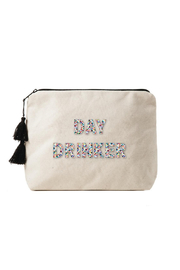 Fallon & Royce Day Drinker Canvas Bikni Bag Confetti Beads - Product Mini Image