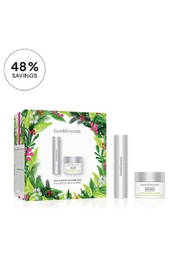 bareMinerals DAY & NIGHT LIP CARE DUO Full-size anti-aging lip balm and lip mask (Holiday 2021) - Product Mini Image