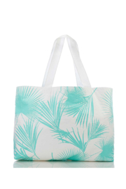 Aloha Collection Day Palms Holo Holo Tote - Front full body