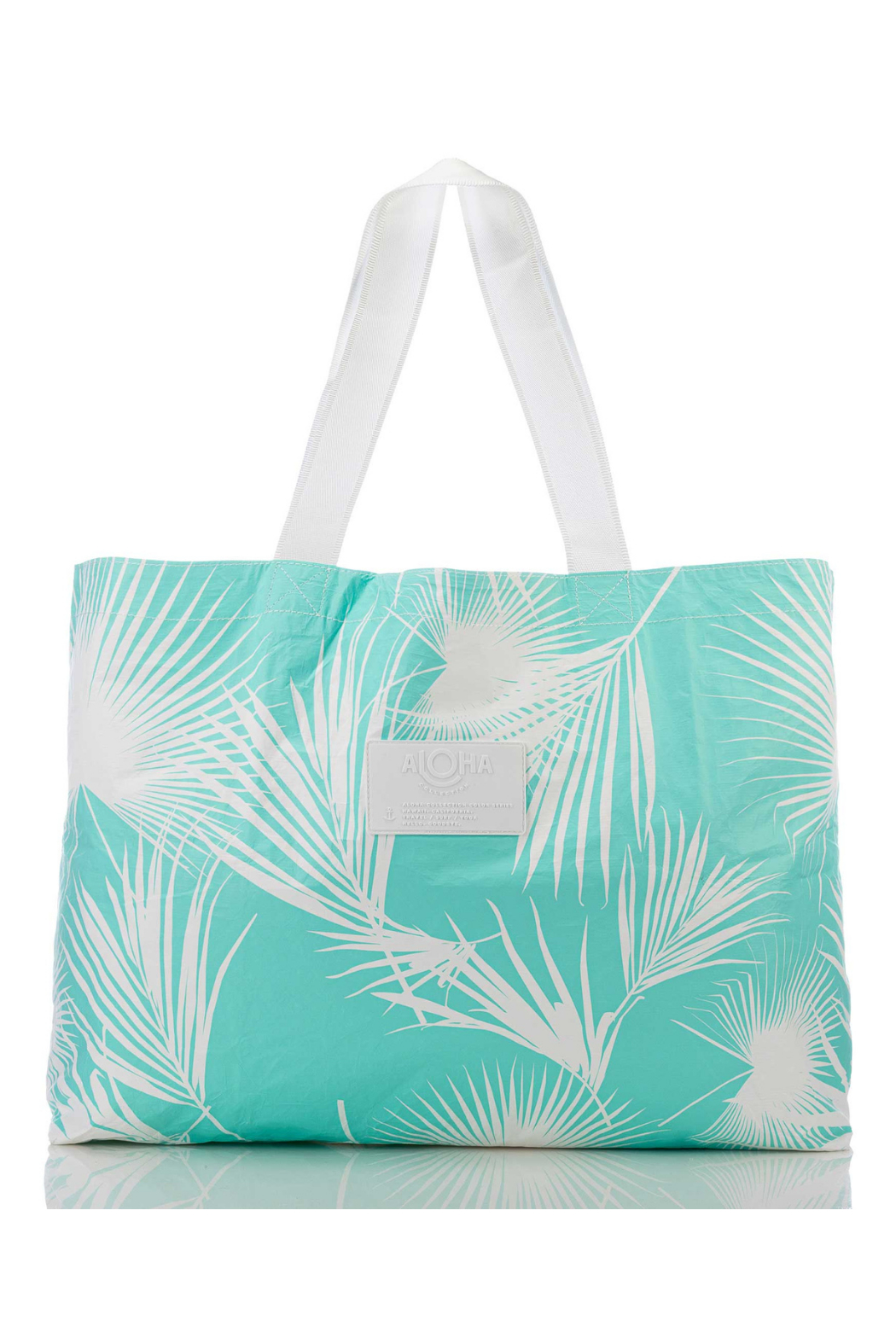 Aloha Collection Day Palms Holo Holo Tote - Front Cropped Image