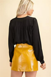 Glam Day to Night V-neck Blouse - Side cropped