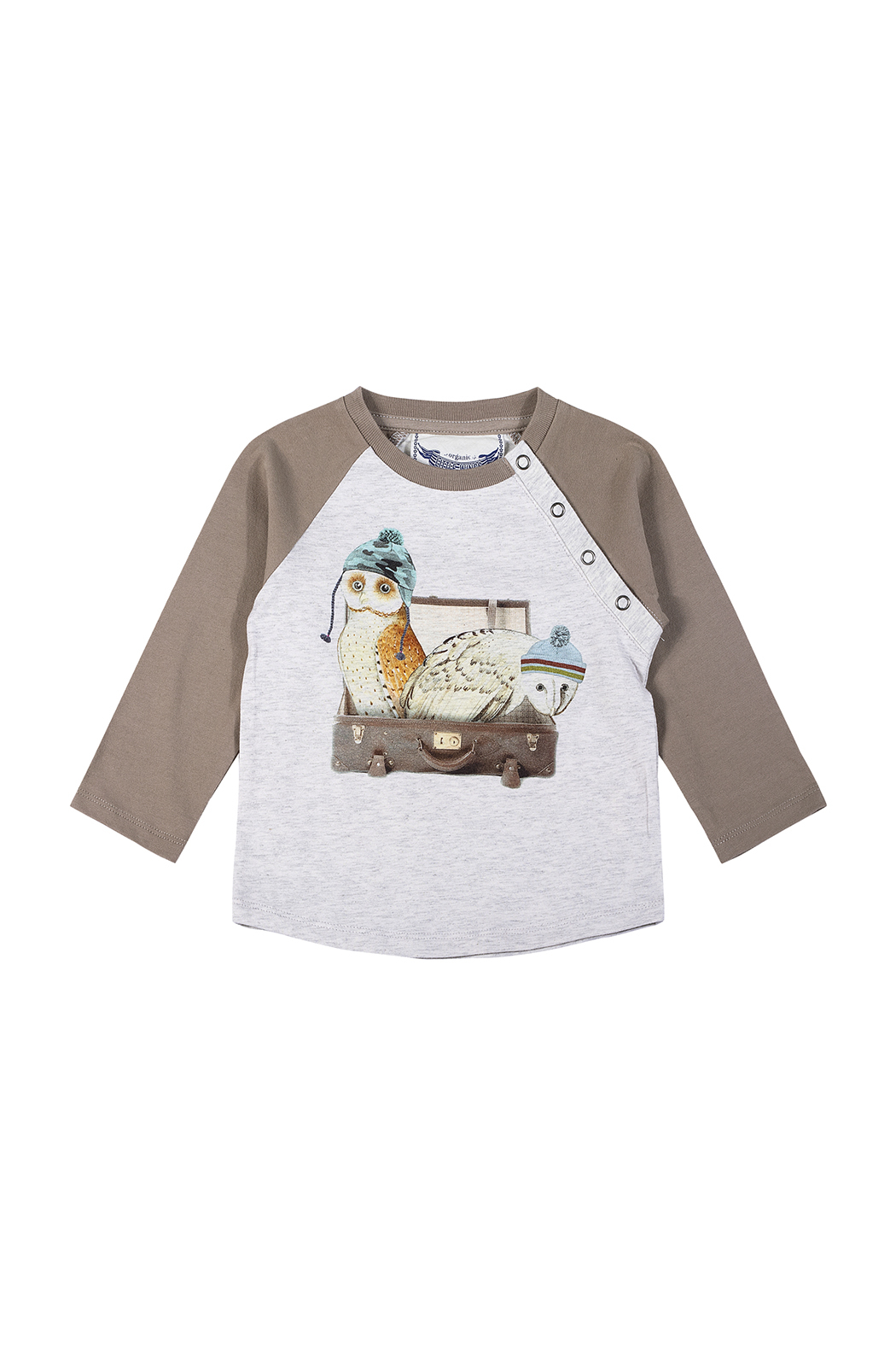 Paper Wings Day Trippers Organic Raglan Tee - Main Image