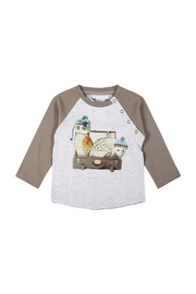 Paper Wings Day Trippers Organic Raglan Tee - Front cropped
