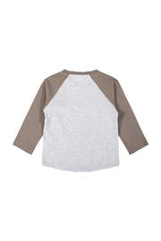 Paper Wings Day Trippers Organic Raglan Tee - Front full body