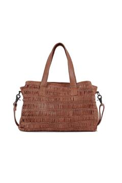 Day & Mood Braided Leather Satchel - Product List Image