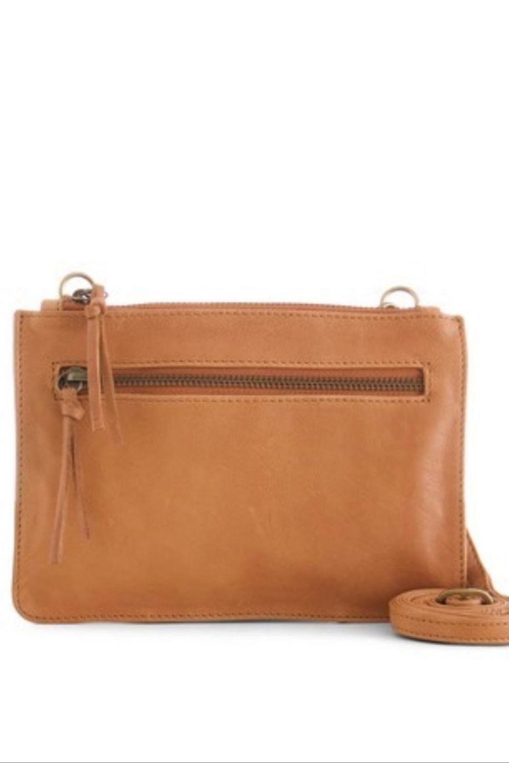 Day & Mood Lily Leather Crossbody - Front Cropped Image
