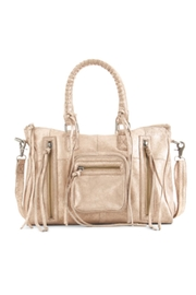 Day & Mood Rose Satchel - Front cropped